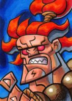 Akuma Sketch Card by Chad73