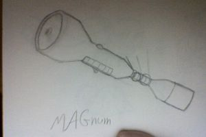 This is my badass weapon. by etchedStone