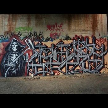 Graff Reaper - gniuz x gone by DrChainsawHandz