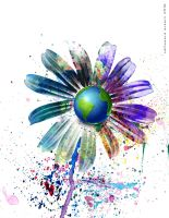 Earth Flower by AVAdesign