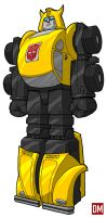 Autobot - Bumble Bee by DanielMead