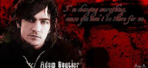 Adam Gontier signature by linkinparkfan4ever