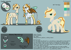 Elusion reference sheet for Sarahostervig by hoshi-kou