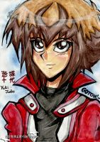 Yuki Judai (headshot) by qBATGIRLq