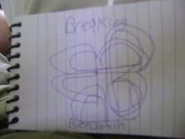 Breaking Benjamin logo hand drawn by ATwistintheMyth