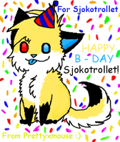 For Sjokotrollet HAPPY B-DAY by Prettyxmouse