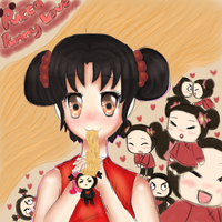 Pucca Funny love by trollzpop1