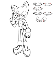 Male Sonic Base by Shadethehedgecat24