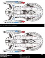 Ships of ASR-UFP-EUROPA-MERCY by GhostRider2007