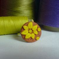 floral ring by strictlyhandmade