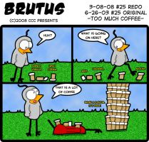Brutus-25-Too Much Coffee REDO by chelano