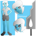 Diamond Reference Pic by Keytee-chan