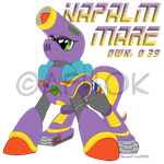 Napalm Mare by AnimeFreak40K