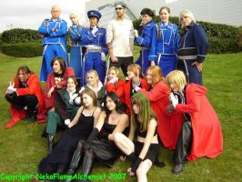 Oct Expo: FMA Group Photo by NekoFlameAlchemist