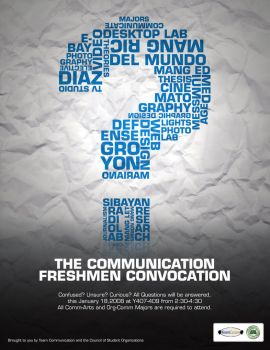 Convocation Poster by DesignersJunior