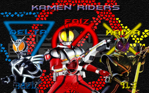 Kamen rider 555 Wallpaper by jilliefoo