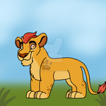Drawing Kion Again by samanthaxkizzy