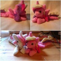 Princess Cadence and Fluer Beanie Babies by Arualsti