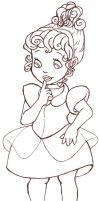Little Cinderella outlines by Meeresniveau