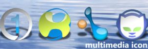MultiMedia Icons by wstaylor