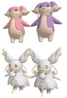 Pokemon OR/AS - Audino XNALara Download by CreamFireballXNALara