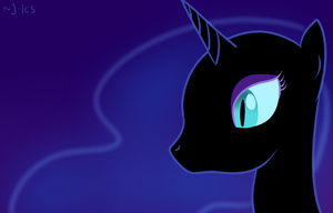 Nightmare Moon by MioAis