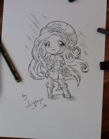 Chibi Arcade Miss Fortune by Lighane