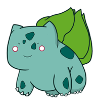 OO1. Bulbasaur by darIing