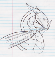 that awesome draggie from my notebook by greendragon27