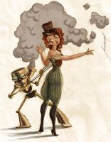 Corset Industrial by Meme-candia