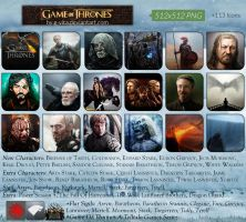 Game Of Thrones +Icons by g-Vita