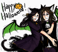 halloween contest entry by catfinches