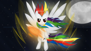 Super Rainbow Dash by Izeer