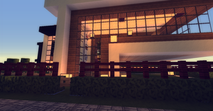 [Minecraft] Modern House by angelodizon