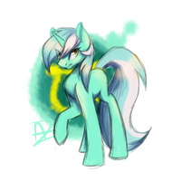 Lyra Sketch by Myralilth