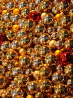 Gold Bulbs by SolStock