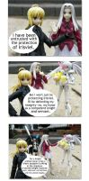 Figure Comic-Protecting Irisviel by Yami-Usagi