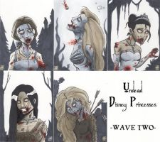 Undead Disney Princesses -Wave Two- by WizardOfAuz