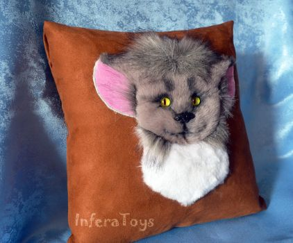 Pillow face by InferaDragon