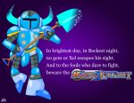 Mighty No. Knight by shadow-link