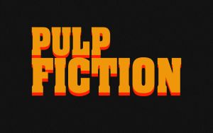 Pulp Fiction Title Wallpaper by LynchMob10-09