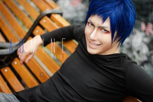 Aomine Daiki - just chillin' by KenkenTiger