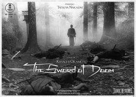 The Sword of Doom (1966) - faux poster by He-Tian-Heng