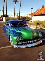 Green on Blue Merc II by Swanee3