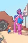 A Wasteland of Possibilities by chibiBiscuit