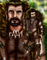 Kraven the Hunter by KwongBee-Arts