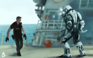Speed Paint - Battleship 2 by Art-by-Smitty