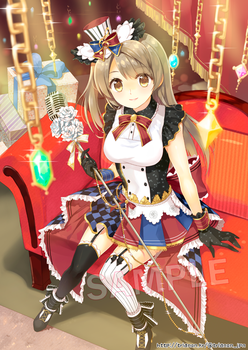 Lovelive-Cafe Maid Kotori by Trianon-dfc