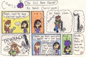 The Evil Bass Clarinet Comic by Sarelipom