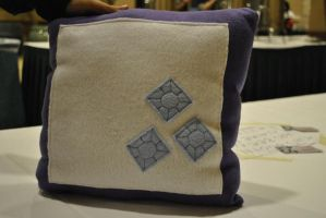 My Little Pony Rarity Pillow by nenfere
